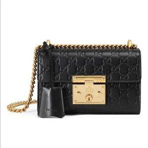 NWT! Gucci Small Padlock Signature Bag